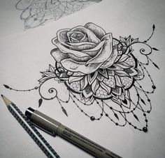 Image result for rose sternum tattoo