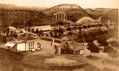 Zábavní park Eden měl přes 5 km dlouhou horskou dráhu Eden Park, Heart Of Europe, Roller Coaster, Czech Republic, Prague, Carousel, Paris Skyline, Abandoned, Coasters