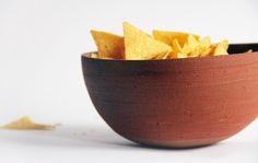 Crispy bowl ♥ grey-milky shiny glaze inside ♥ Aisälädäsigns, Stuttgart, Germany, ♥