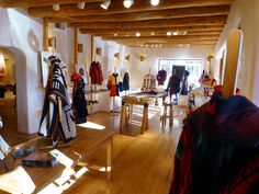 A nice sunny day in Taos. This is our main showroom. Try the new Google street view tour by visiting us on Google Maps.