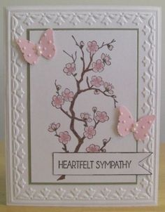 Sympathy Card by jenn47 %u2013 Cards and Paper Crafts at Splitcoaststampers