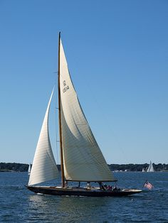 Sailboat off the coast of Newport, Rhode Island | Frontgate: Live Beautifully Outdoors