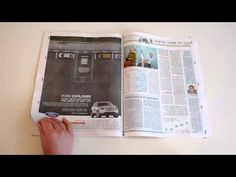Ford Explorer: Interactive Print Ads - Creative Advertising - Print, Smarphone, Augmented Reality, SUV features