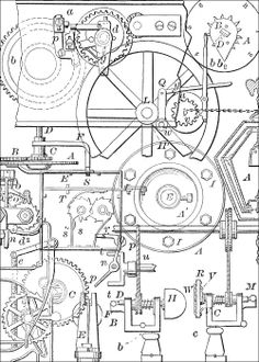 Free Steampunk Collage Sheets