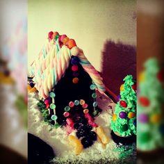 Casinha de doces - Natal