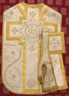 New Liturgical Movement: New Vestment Work
