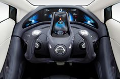 Nissan Landglider Concept Car.
