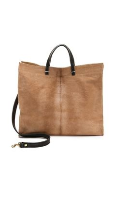 The best carryall. | Clare Vivier Simple Haircalf Tote