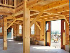 Island Timber Frame Barn