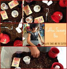 Tongue-in-cheek sensory bin for Reformation Sunday and learning about the Lutheran Church ; Sensory Art, Sensory Tubs, Sensory Boxes, Sensory Activities For Preschoolers, Preschool Learning, Preschool Curriculum, Homeschooling, Teaching, Montessori