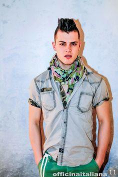 #camicia #militare grigia