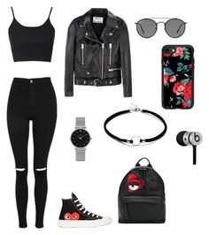 """""""polyvore"""" by jesy-smith on Polyvore featuring mode, Topshop, Acne Studios, Comme des Garçons, Chiara Ferragni, Ray-Ban, CLUSE, Casetify et Beats by Dr. Dre"""