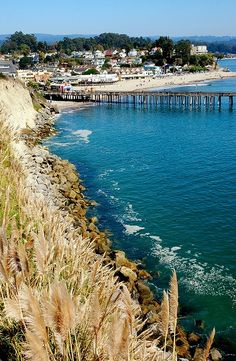 Santa Cruz, California.  You can practically see my college apartment in this photo!  I love it!!!