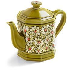 Vintage Make Your Daisy Teapot