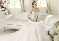 Pronovias te presenta el vestido de novia Duquesa, Glamour 2013. | Pronovias