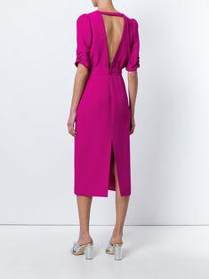 Nº21 платье с вырезом на спине