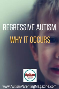 What is Regressive Autism? https://www.autismparentingmagazine.com/what-is-regressive-autism/?utm_content=buffer208ae&utm_medium=social&utm_source=pinterest.com&utm_campaign=buffer