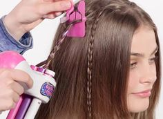 Just Play Auto Hair Braider Playset is a hair styling tool that can create beautiful hair braids effortlessly even if you don't know how to. Up Hairstyles, Braided Hairstyles, Hair Braider, Cool Inventions, Styling Tools, Hair Tools, Wavy Hair, Unique Gifts, Hair Play