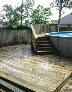 Small Patio Makeover Swimming Pools 43 New Ideas Swimming Pool Landscaping, Backyard Landscaping, Backyard Pools, Landscaping Design, Best Above Ground Pool, In Ground Pools, Pergola Patio, Pergola Ideas, Pergola Curtains