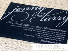 large cursive wedding invitation Invitation Cards, Wedding Invitations, Wedding Typography, Paris Wedding, Script Fonts, Cursive, Google, Image, Invitation Ideas