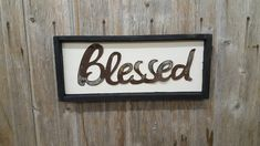 The metal is a that is rusted. The word measures Back is rustic white background with White Frame! Luxury Christmas Gifts, Shop Display Stands, Framed Words, Diy Wedding Gifts, Shop Front Design, Metal Letters, Coffee Design, Shop Plans, Brighten Your Day