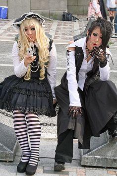 Gothic lolita and visual kei