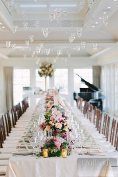 Hay Adams Hotel    Atrendy Wedding and Event Company (photo by Holland Photo Arts) #flowers #tables #placesetting