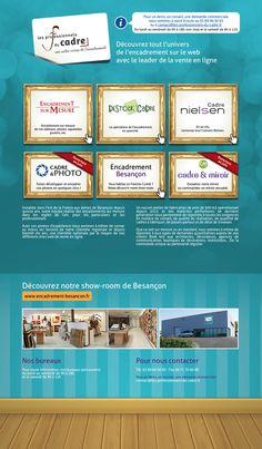 Site portail des Professionnels du Cadre. www.les-professionnels-du-cadre.fr