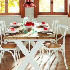 mesa costa corte ingls e comensales