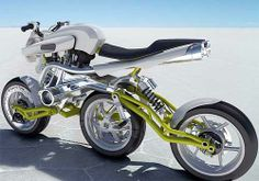 This is the Motiv concept motorcycle by Julien Rondino. Besides the obvious three wheels in a row, it is made of aluminum and steel tubing plus a v-twin engine. Concept design motorcycles and futuristic scooters - innovation Concept Motorcycles, Cool Motorcycles, Motorcycle Design, Motorcycle Bike, Ducati, Bike Garage, Side Car, Motos Harley Davidson, Pt Cruiser