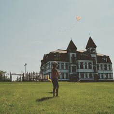 The old Lunenburg Academy. Nova Scotia, Old Things, Louvre, Travel, Voyage, Viajes, Traveling, Trips, Tourism