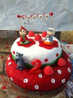 Resultado de imagem para little red riding hood cake toppers