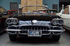 The Black Diamond (Chevrolet Corvette) at Classic Remise Car Exhibition in Berlin #berlin #travel #berlinbejby #germany #classic #car #classicremise #exhibition #chevrolet #corvette #black #diamond #interior #nikon #like #tamron