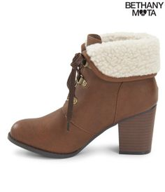 Fold-Over Bootie - Bethany Mota Collection
