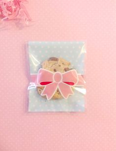 Clear Cookie Bag / Self-Adhesive Plastic Bag / by SprixieCharms