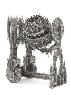 Concrete Mixer (scale model 1:4) von Wim Delvoye