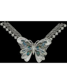 Shimmer and shine butterfly necklace Countryoutfitter.com