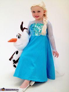 Elsa Costume - 2014 Halloween Costume Contest via @costume_works