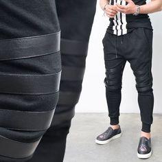 Gay tube baggy pants