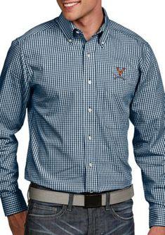 Antigua Men's Virginia Cavaliers Associate Woven Shirt -  - No Size