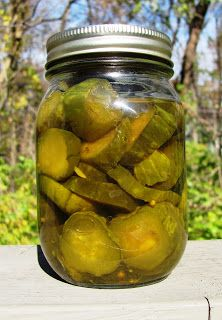 Creating Nirvana: Canning Cucumber Chips Pickles