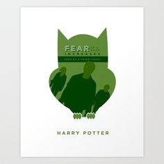 Harry Potter Art Print by Thomas Ramey - $17.68