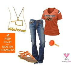 Different school, but still cute.  Oklahoma State Cowboys