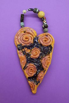 Kim & Karen: 2 Soul Sisters: Clay Coil Wall Decorations with Wire & Beads