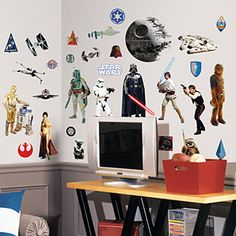 star wars decals- use spaceships from these?