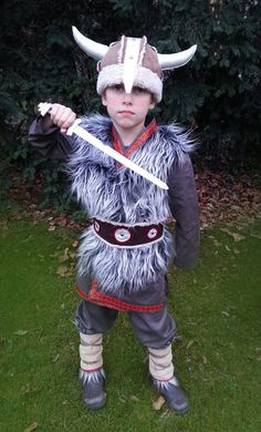 Viking Costume 4-8 years Wicky LARP Stone Age by maiiberlin