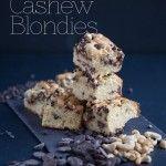 Chobani Yogurt -Our Blog -Salted Chocolate Cashew Blondies - Chobani Yogurt