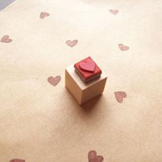 Mini Heart Stamp from stampcouture on Etsy