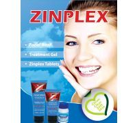 Zinplex - Combo Pack - Facial Wash, Treatment Gel and 120 Tablets Facial Wash, Fast Growing, Health, Health Care, Salud