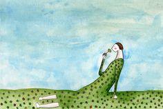 elena-odriozola Elena Odriozola, Children's Book Illustration, Art Illustrations, In This World, Childrens Books, Contemporary Art, Dinosaur Stuffed Animal, Drawings, Artist